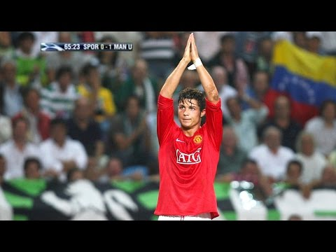 Cristiano Ronaldo vs Sporting Lisbon Away 07-08 by Hristow