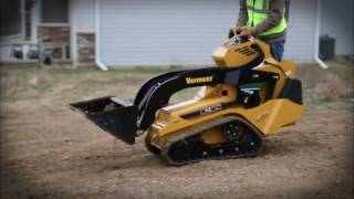 Vermeer's most compact Mini Skid Steer Loader, the new CTX50