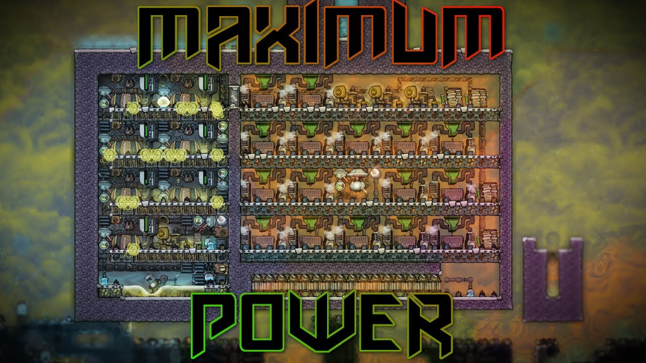 Maximum Power From a Natural Gas Geyser! Oxygen Not Included