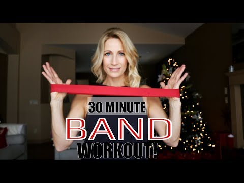 30 Minute Band Workout | Full Body Mini Band Circuit