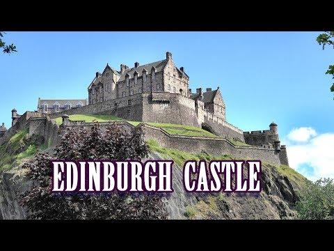 EDINBURGH CASTLE - EDINBURGH , SCOTLAND 2019 4K