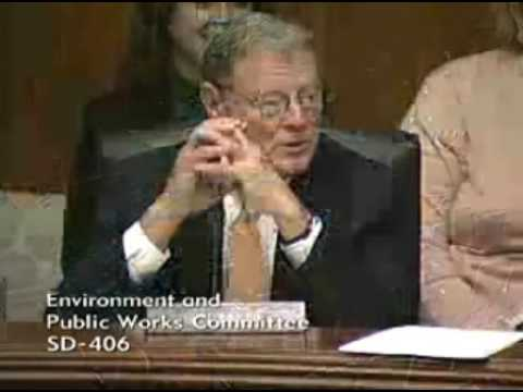 Inhofe to Boxer - We Won, You Lost, Now Get a Life!
