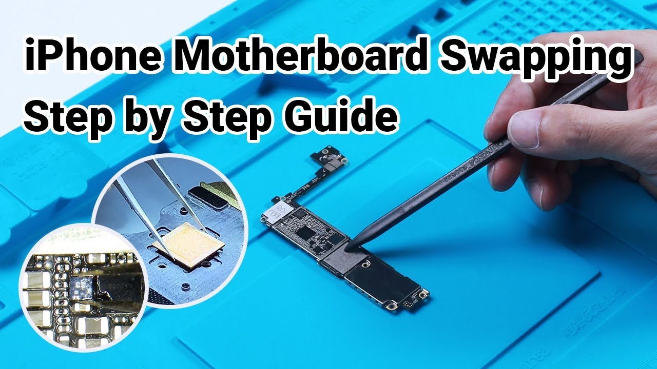 Photo of iPhone Repair Lesson: How to Swap iPhone 7 Motherboard A10 CPU – Old Data Saved Version – شركة ابل