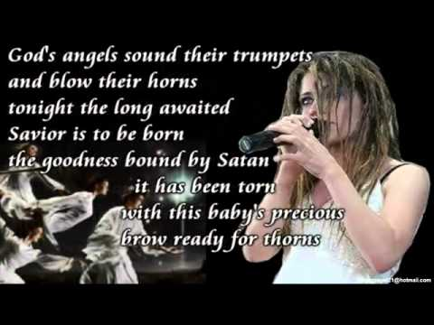 Flyleaf - Christmas Song (Video & Lyrics On Screen HD)_(360p)