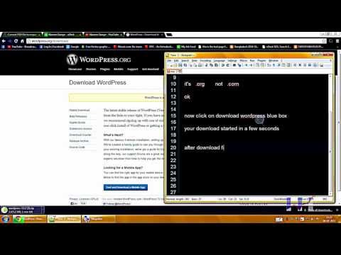 how to download wordpress cms on pc
