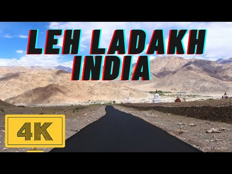 Leh Ladakh Himalayas in 4K - India Top #1 Tourist Destination - Worlds Highest Pass Bikers Roadtrip