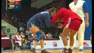 Female Sambo Wrestling World Championships 2008 1