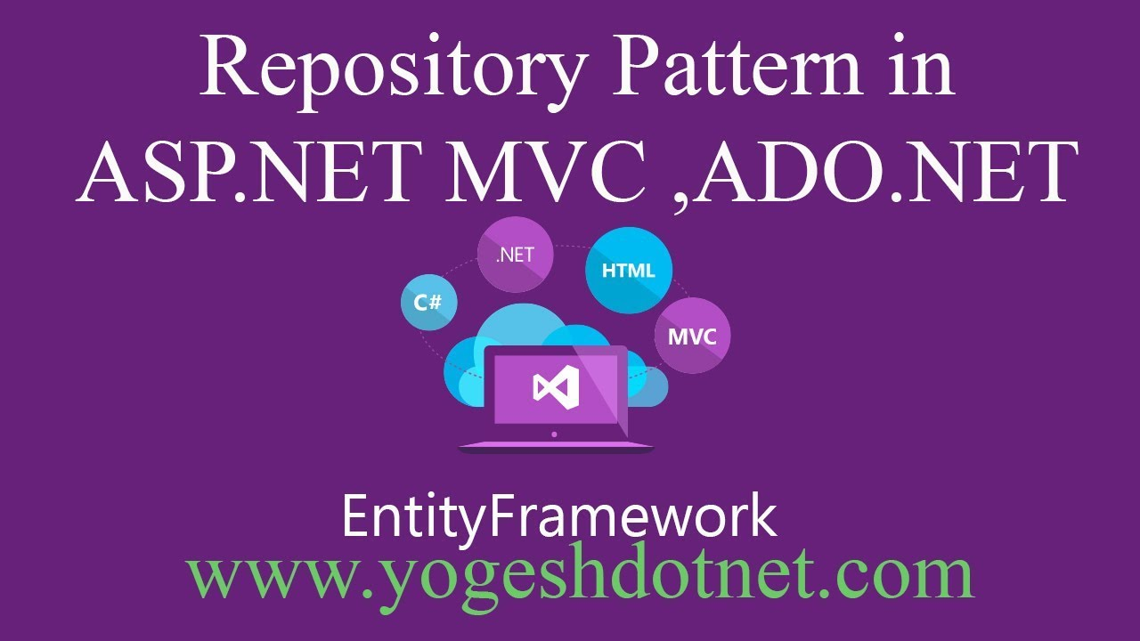 repository pattern c# mvc example | Lecture 14 | Part-2 | Hindi