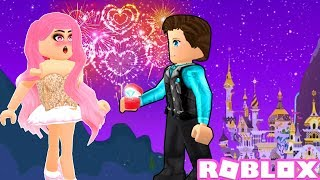 He Asked Me To Marry Him... Recreating The Proposal ♥ - Roblox Roleplay