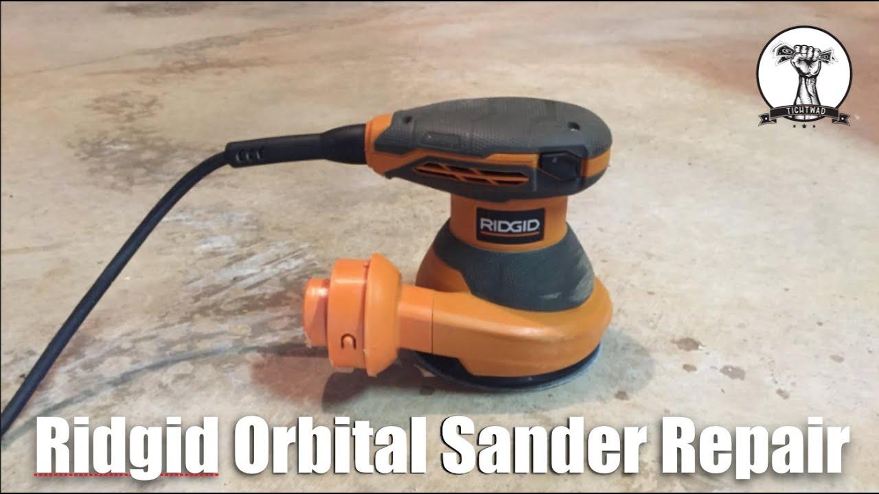 Ridgid Orbital Sander Repair Will Not Turn On Youtube Chicago 7 Polisher Wire Diagram