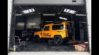CUSTOM LAND ROVER DEFENDERS UP TO 700 HP!!