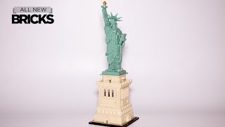 Lego Architecture 21042 Statue of Liberty Speed Build