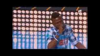 "Chris Ejiohuo - 50 Cent - ""Candy Shop"" - X Factor Romania, sezonul trei"