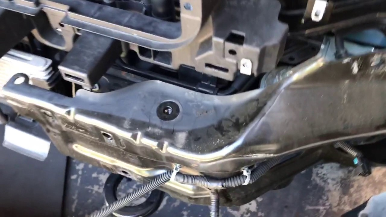 How to remove front bumper 2500 Chevrolet GMC 2016 - YouTube