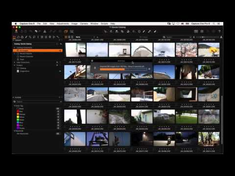 Capture One Pro 9 Webinar | Organising your Catalog