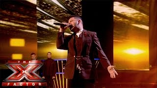 Paul Akister sings Emile Sandé's  Clown (Sing Off) | Live Results Wk 5 | The X Factor UK 2014