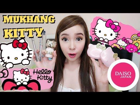 HELLO KITTY MAKE UP? bakit ganun? ft. DAISO JAPAN