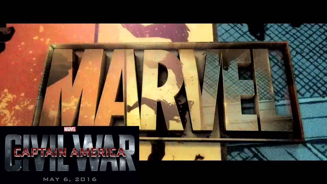 Iron Man 3d Wallpaper Free Captain America Civil War Marvel Intro Logo 2016 Hd