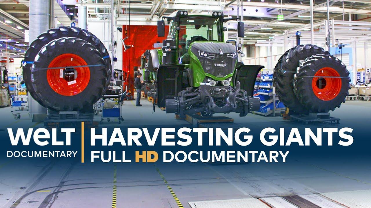 Colheita de gigantes - alta tecnologia para agricultores | Documentário Excepcional Completo de Engenharia + vídeo