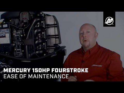 Mercury 150hp FourStroke - Ease of Maintenance