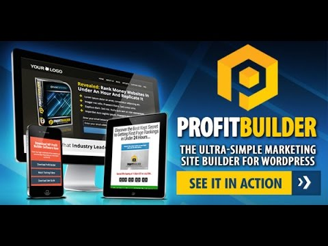 Profit Builder, Best Landing Page Creator High Converting Marketing Pages With Drag and Drop Ease
