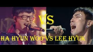 Lee Hyuk (Norazo) Vs Ha Hyun Woo (Guckkasten) [F4-A5] - 이혁 (노라조) VS 하현우(국카스텐)