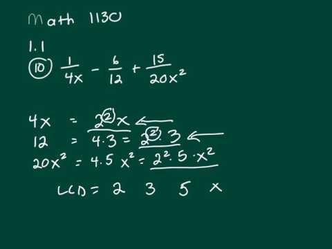 Math 1130 1.1 10