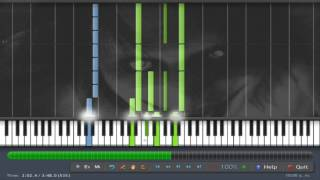 Sweet Dreams ( Jeff The Killer Theme Cover) | Piano Tutorial Synthesia