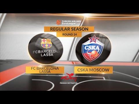Highlights: FC Barcelona Lassa-CSKA Moscow