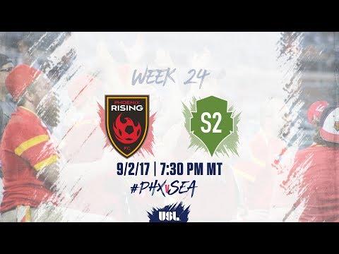 USL LIVE - Phoenix Rising FC vs Seattle Sounders FC 2 9/2/17