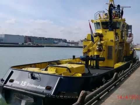 visit engineroom RPA 15 (rotterdam port authority) 14-4-2012