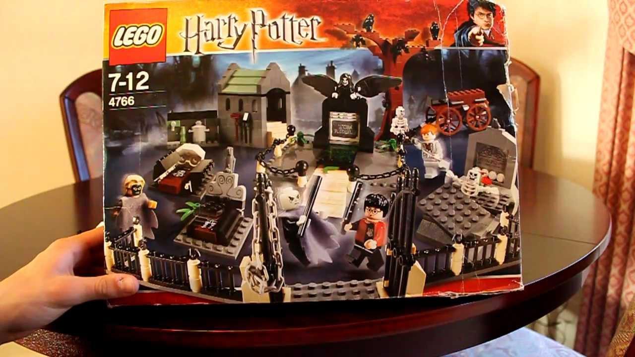 Lego Harry Potter Graveyard Duel Review Vintage