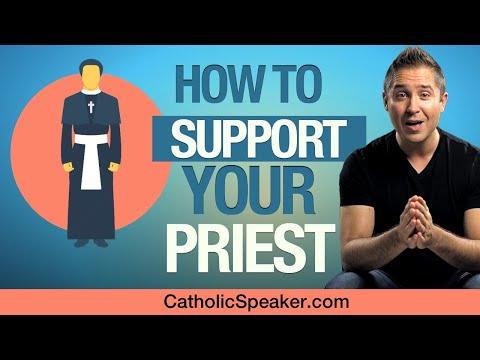 Support Your Catholic Priest (Catholic Speaker Ken Yasinski)