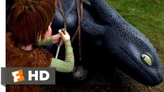 How to Train Y๐ur Dragon (2010) - Freeing The Night Fury Scene (1/10) | Movieclips
