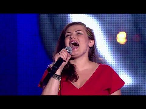 """The Voice Of Poland V - Asia Kwaśnik - """"Something's Got A Hold On Me"""" - Przesłuchania W Ciemno"""