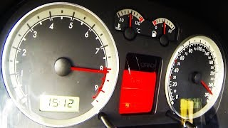 VW Golf 4 GTI 1.8T Acceleration Extreme 0-280