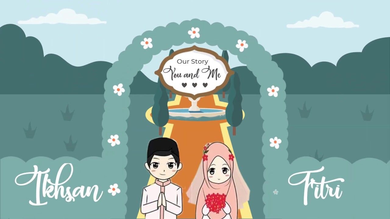 Undangan Pernikahan Digital FITRI dan IKHSAN - YouTube