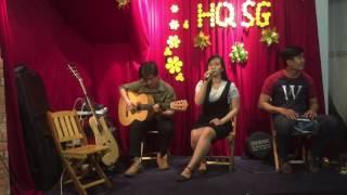 [ Live Acoustic] Mùa Thu Lá Bay - [ Thuý An ] ft Guitarist Sang Huỳnh