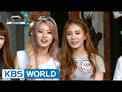 Global Request Show: A Song For You 4 - Ep.8 with JJCC, SONAMOO (2015.09.25)