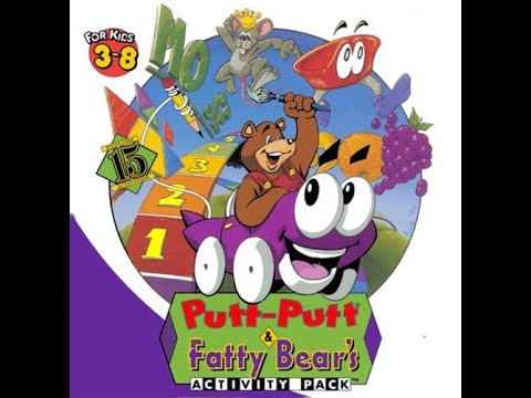 Me Playing Putt-Putt & Fatty Bear's Activity Pack for DOS  