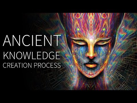 Ancient Knowledge Painting Process – Digital Visionary Art