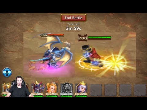 Creation-01 Archdemon Tanking Can He Survive Castle Clash