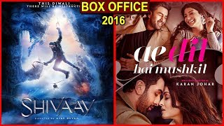 Shivaay vs Ae Dil Hai Mushkil 2016 Movie Budget, Box Office Collection, Verdict and Facts