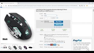 Freewolf X8 Mouse