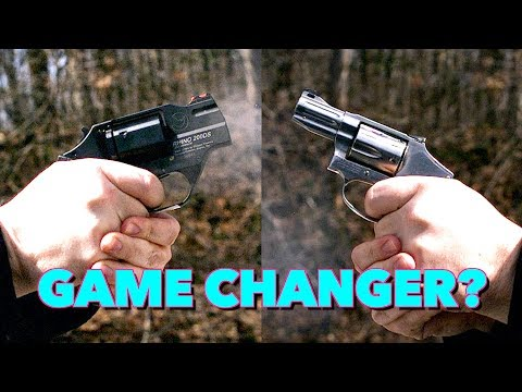 Is The Recoil Gone?! - Snub Nose Revolver Experiment