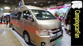 【バーデン グランデ】 家庭用エアコンを搭載したハイエースバンコンキャンピングカー Japanese Campervan Campingcar