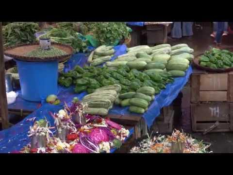 Un marché tout en couleur ! Tananarive - Madagascar