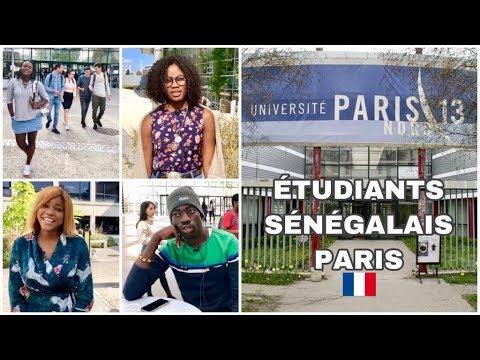 🇨🇵Paris, la rentrée universitaire avec les étudiants sénégalais... [Étudiants étrangers en France]