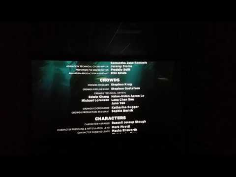Finding Dory Full Movie Part 11 - The End Credits