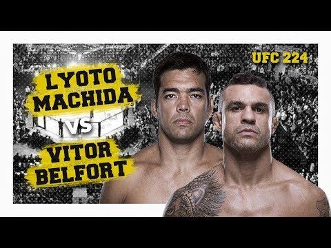 Quem Vence? LYOTO MACHIDA OU VITOR BELFORT? UFC 224 Rio de Janeiro